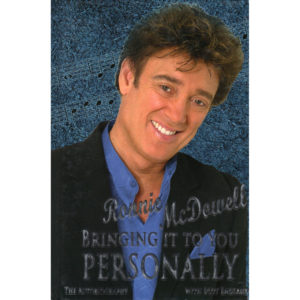 RONNIE McDOWELL Bringing It To You Personally Book Autographed Signed