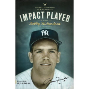 BOBBY RICHARDSON Impact Player Book Autographed Signed