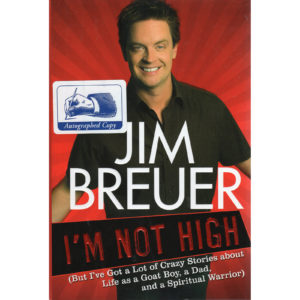 JIM BREUER I'm Not High Book Autographed Signed
