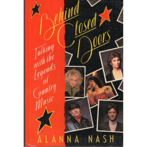 ALANNA NASH Behind Closed Doors Book Autographed Signed