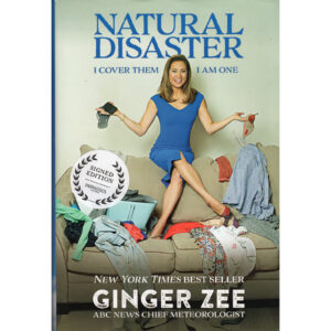 GINGER ZEE Natural Disaster Book Autographed Signed