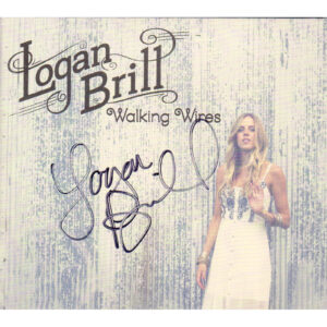 LOGAN BRILL Walking Wires Cd Digi-Pak Autographed Signed