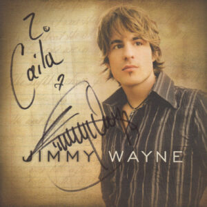 JIMMY WAYNE Self Titled Cd Signed Autographed
