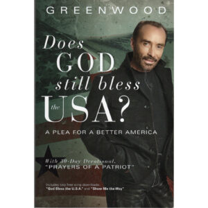 LEE GREENWOOD Does God Still Bless The USA? Book Autographed Signed