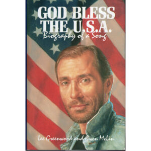LEE GREENWOOD God Bless The U.S.A. Book Autographed Signed