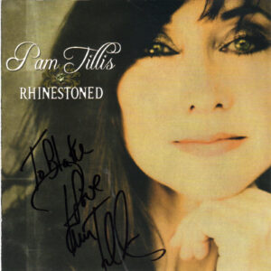 PAM TILLIS Rhinestoned CD Signed Autographed