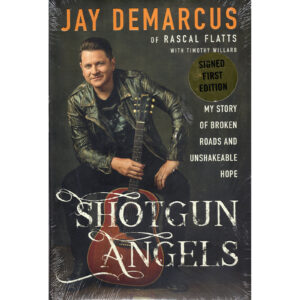 RASCAL FLATTS JAY DEMARCUS Shotgun Angels Book Autographed Signed