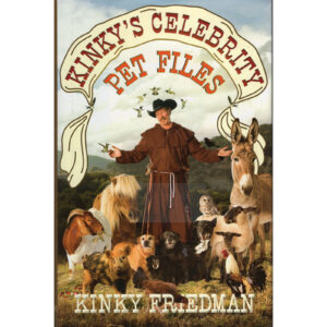 KINKY FRIEDMAN Kinky's Celebrity Pet Files Book Autographed Signed