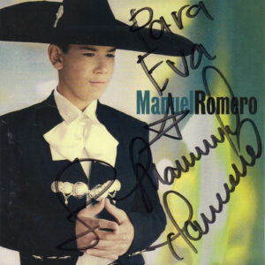 MANUEL ROMERO Self Titled CD Autographed Signed