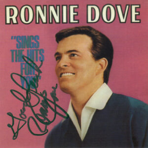 RONNIE DOVE Sings The Hits For You CD Autographed Signed