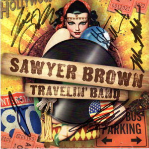 SAWYER BROWN Travelin' Band CD Autographed Signed