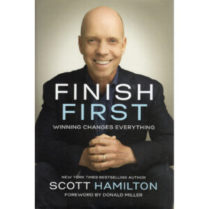 SCOTT HAMILTON Finish First Book Autographed Signed