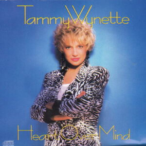 TAMMY WYNETTE Heart Over Mind CD Rare