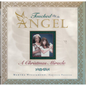 RANDY TRAVIS Touched by An Angel A Christmas Miracle Book by Martha Williamson Autographed Signed