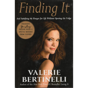 VALERIE BERTINELLI Finding It Book (Exclusive Jenny Craig Edition)
