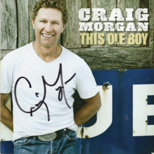 CRAIG MORGAN This Ole Boy CD Autographed Signed