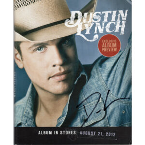DUSTIN LYNCH Self Titled CD Album Preview Autographed Signed