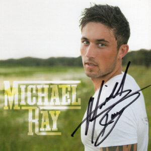 MICHAEL RAY Self Titled CD Autographed Signed