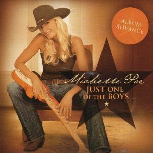 MICHELLE POE Just One Of The Boys CD Rare