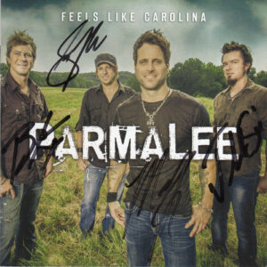 PARMALEE Feels Like Carolina CD Autographed Signed