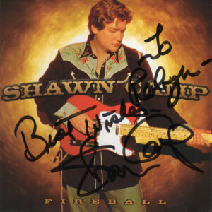 SHAWN CAMP Fireball CD Autographed Signed