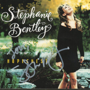 STEPHANIE BENTLEY Hopechest CD Autographed Signed