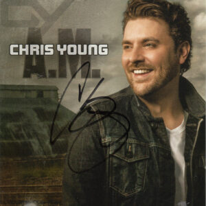 CHRIS YOUNG A.M. CD Autographed Signed