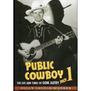 GENE AUTRY Public Cowboy No. 1 Book Autographed Signed