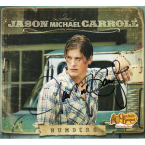 JASON MICHAEL CARROLL Numbers Digi-pak CD Autographed Signed