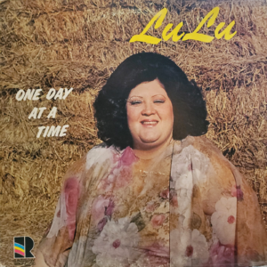 LULU ROMAN One Day At A Time LP Autographed Signed