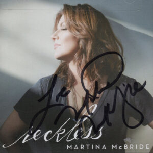 MARTINA MCBRIDE Reckless CD Autographed Signed