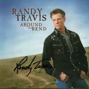 RANDY TRAVIS Around The Bend CD Autographed Signed