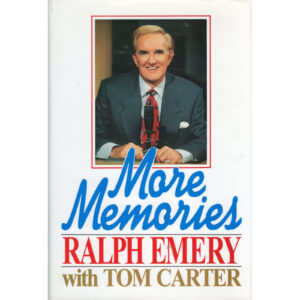 RALPH EMERY More Memories Book Autographed Signed