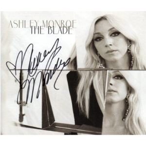 ASHELY MONROE The Blade CD Autographed Signed