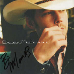 BRIAN MCCOMAS Self Titled CD Autographed Signed