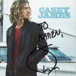 CASEY JAMES Self Titled CD Autographed Signed