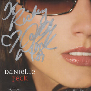 DANIELLE PECK Self Titled CD Autographed Signed
