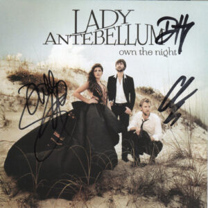 LADY ANTEBELLUM Own The Night CD Autographed Signed