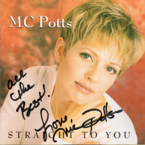 MC POTTS Straight To You CD Autographed Signed