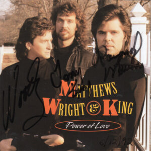 MATTHEWS WRIGHT & KING Power Of Love CD Autographed Signed