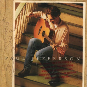 PAUL JEFFERSON Self Titled CD Autographed Signed