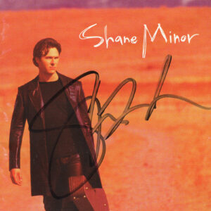 SHANE MINOR Self Titled Cd Autographed Signed