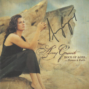 AMY GRANT Rock Of Ages Hymns & Faith CD Autographed