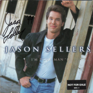 JASON SELLERS I'm Your Man CD Autographed