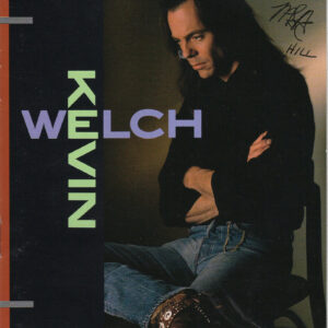 KEVIN WELCH Self Titled CD Autographed