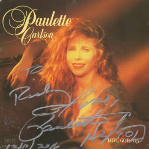 PAULETTE CARLSON Love Goes On CD Autographed
