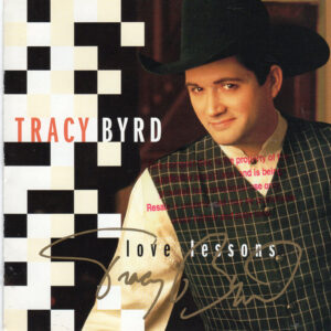 TRACY BYRD Love Lessons CD Autographed